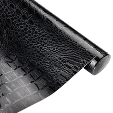 50*152 см крокодил узор кожа Виниловая пленка водостойкий ПВХ корпус автомобиля DIY wrap ping стикер Авто интерьерное украшение Наклейка wrap