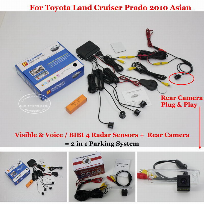 Car Parking Sensors + Rear View Camera = 2 in 1 Visual / Alarm Parking System For Toyota Land Cruiser Prado 2010 Asian college basketball jersey wildcats 23 100% college basketball jerseys