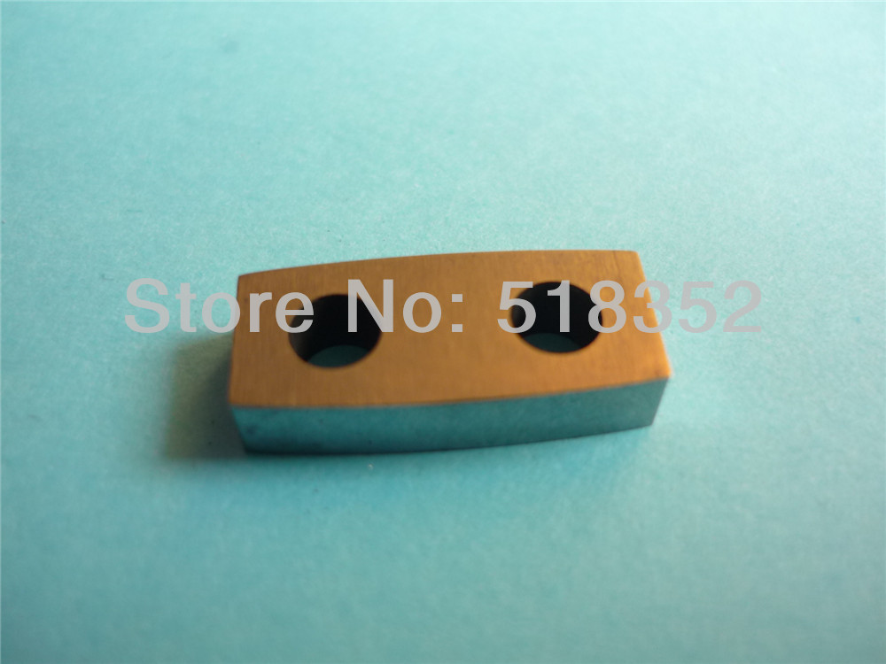 Z248W0200300 Makino A006 Upper and Lower Power Feed Contact T4mmx W8mmx L19mm for WEDM-LS Wire Cutting Machine Parts  цены