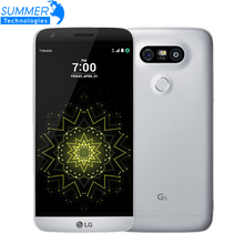 Original Unlocked LG G5 Quad Core Mobile Phone 4GB RAM 32GB ROM Display 5.3″ QHD IPS 16MP Fingerprint FDD LTE Smartphone