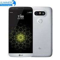 Original Unlocked LG G5 Quad Core Mobile Phone 4GB RAM 32GB ROM Display 5 3 QHD