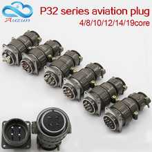 цена на Aviation plug socket round connector P32 series 4.8.10.12.14.19core diameter 32MM