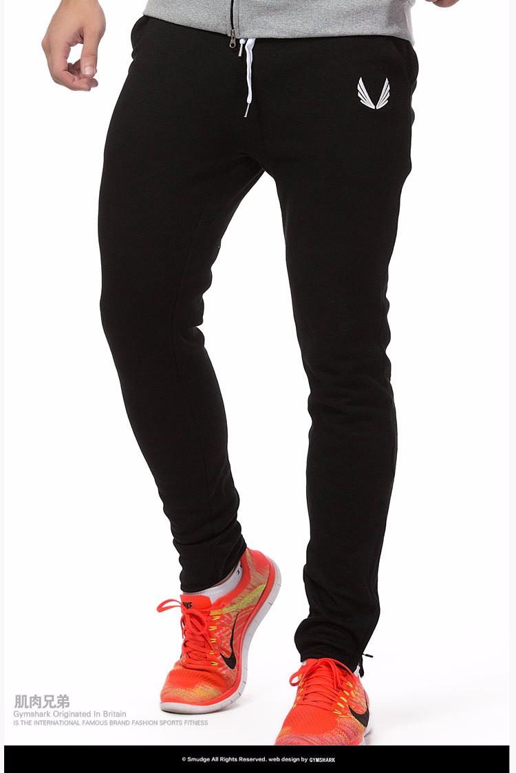 Gymshark Hombres Pantalones Casual Pantalones Slim Fit Para Hombre Joggingrunning Sporttraining Profesional Culturismo Pantalones De Chandal En Pantalones Flacos De Ropa Y Accesorios