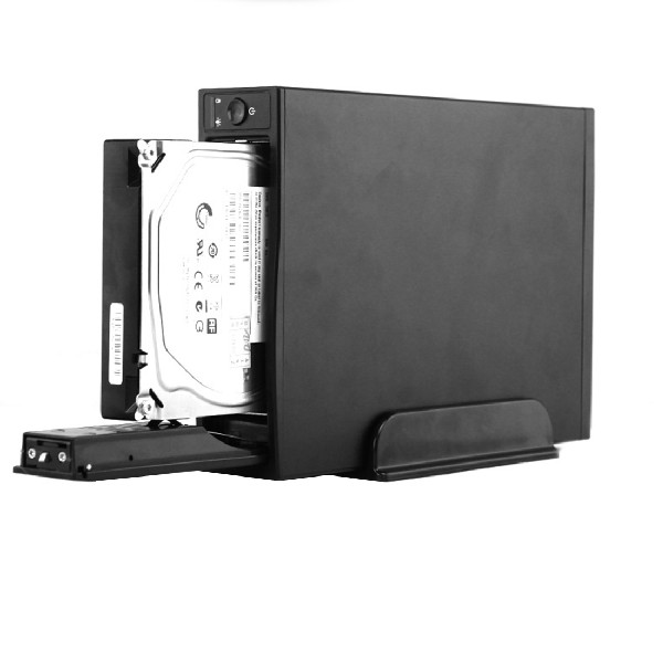 Etmakit New Fashion External Metal Storage Enclosure for HDD 3 5inch USB3 0 for Hard Drive