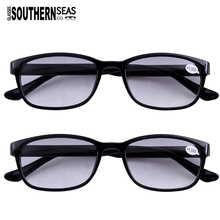 e85e0efc9c43 2x Tinted Bifocals Reading Glasses Everyday Use Sun Readers Eyewear Mens  Womens Home Office Spectacles +