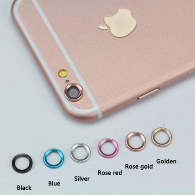 Роскошные Камера гвардии круг из металла объектива Кольцо бампер для iPhone 6 6 S Plus Оптические стёкла украшения Интимные аксессуары защитное к...
