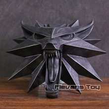 The Witcher 3 Wild Hunt Witch Wolf Wall Sculpture PVC Figure Collectible Model T