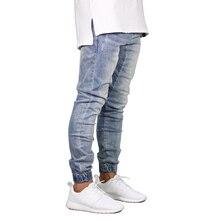 למתוח אופנה ג ינס גברים ג ינס עיצוב Jogger Y5036 רצים היפ הופ לגבריםdenim joggersman jeans denimstretch mens jeans
