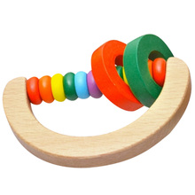 Wood Rattle Toy