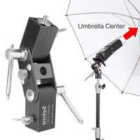 Selens SE L012 Flash Schuh halterung Speedlite Regenschirm Halter Licht Stehen schraube montieren L Halterung Fotografie Zubehör-in Fotostudio-Zubehör aus Verbraucherelektronik bei