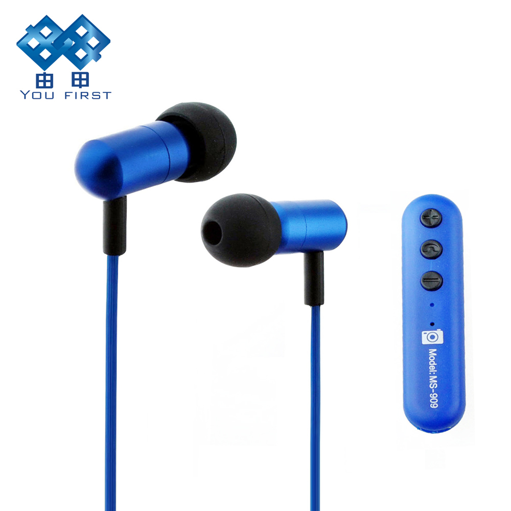 Bluetooth Earphone Wireless Stereo Hands Free Headset 3.5mm With Remote Controller Camera Self-timer Microphone For Mobile Phone bullet camera tube camera headset holder with varied size in diameter