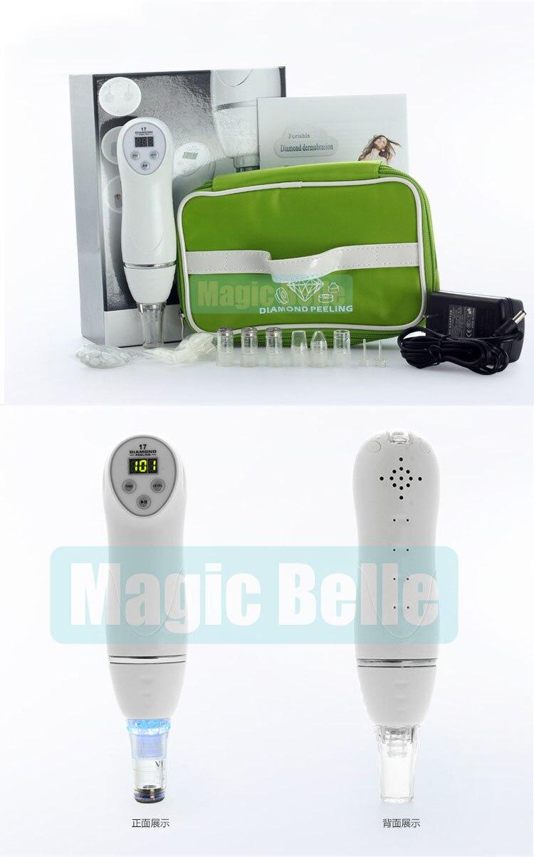 magicbelle 100 v 240 v original maquina microdermabrasion remocao cravo pele peeling de diamante dermoabrasao facial