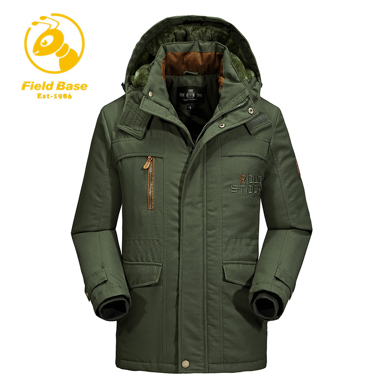 Field Base Military Men Jacket Parkas Winter Thick Warm Men's Jacket and Coats Casual Plus Size L-6XL Hooded Long Coat Outwears free shipping winter parkas men jacket new 2017 thick warm loose brand original male plus size m 5xl coats 80hfx