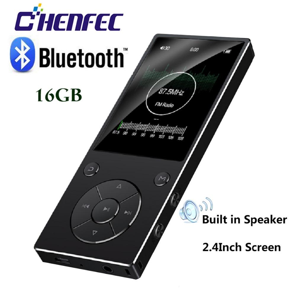 Mp3-player Unterhaltungselektronik Neue Bluetooth Mp3 Player 2,4 tft Bildschirm Eingebaute 16g Musik Player Hifi Tragbare Walkman Mit Radio/fm /aufnahme Tf Bis Zu 128g