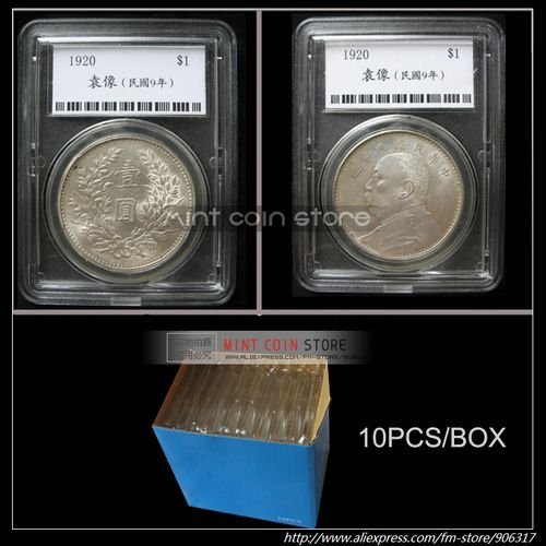 CLEAR COIN SLABS/Snab 10pcs/lot-Only fit 38mm or 39mm coin