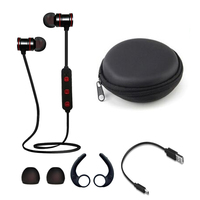 Magnetic Wireless 4 1 Bluetooth Handfree Earphone Sport Wireless Music Headset With Mic For IPhone Xiaomi