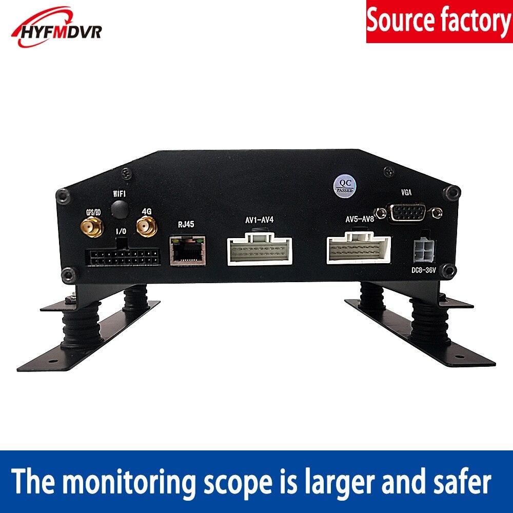 Usine en gros 8 canaux camion conduite à distance enregistrement surveillance Mobile DVR 4G GPS réseau surveillance en ligne PAL/NTSC système - 3