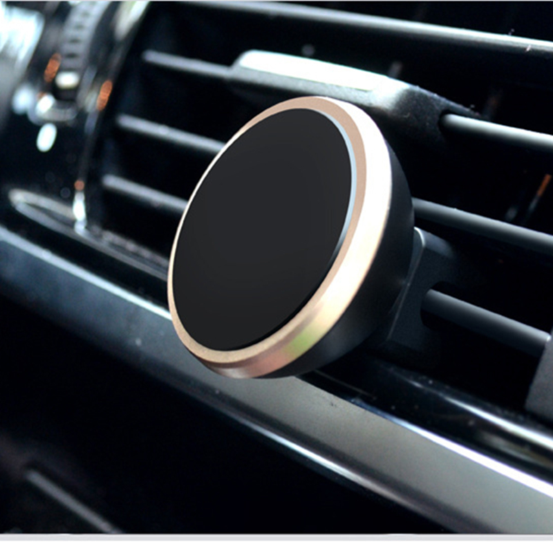 Mobile Phone Accessories Cheap Sale Car Phone Holder Magnetic Air Vent Mount Mobile Smartphone Stand Magnet Support Cell Cellphone Telephone Desk In Car Holder Gps Exquisite Craftsmanship; Mobile Phone Holders & Stands