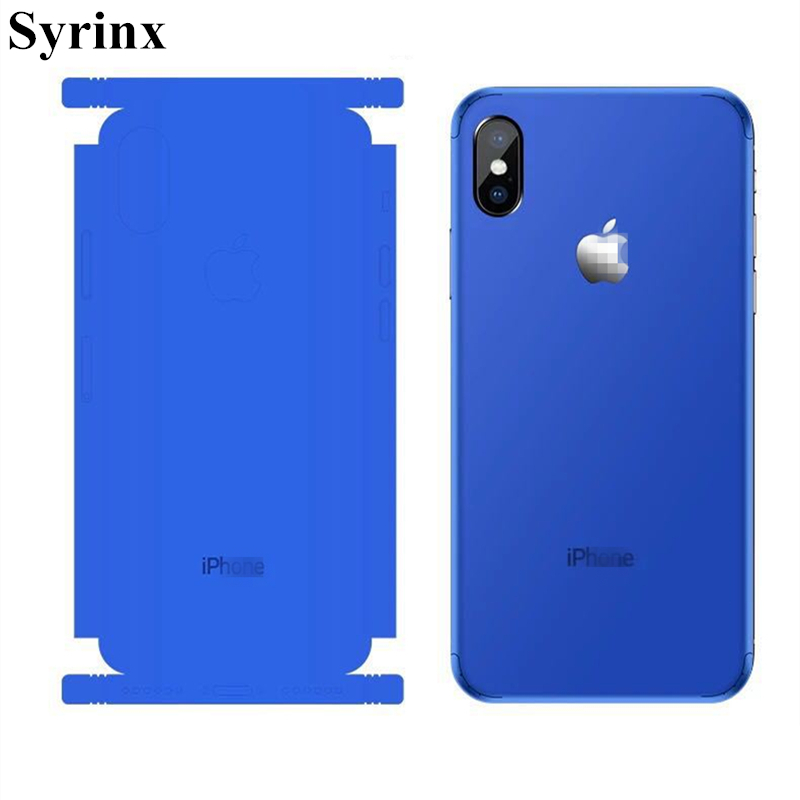 Syrinx Top Sell Full Body Candy Color Decal Sticker Wrap Skin Case Cover  For iphone 6 6s 7 8 Plus X Ice Film for 6 6s Protector-in Half-wrapped Case  from ... e29c792f80