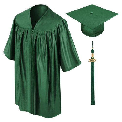 Hunter Green Preschool Graduation Gowns-Be.Fore
