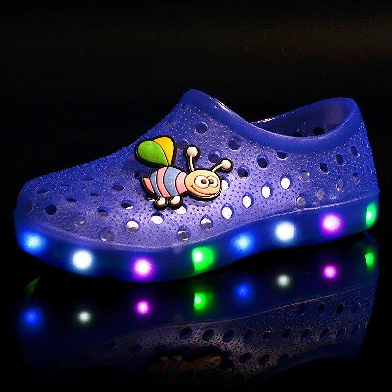 Summer Boy Girl Gloging Shoes Sandals Soft Children Kids