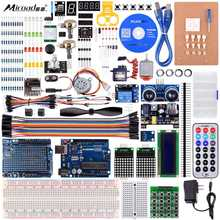 Miroad K27 For Arduino Starter Kit Ultimate Uno R3 Programming Robot Kits Pro Mini atmega due