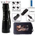 6000Lumens Flashlight Zoomable/Adjustable Lamp LED CREE XM-L T6 Tactical Flashlight Torch Outdoor Lighting Camping  Flash Light