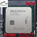 AMD FM2+APU A8-7600 Quad-Core CPU 3.1GHz L2=4M 65W Integrated R7 graphics 906Pin A8-7600B CPU Desktop processor  Free shipping