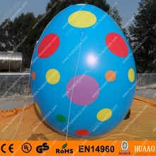 Free shipping 3m Giant Inflatable Easter Egg for advertising