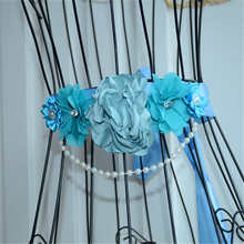 Buy Crocheted Flower Maternity Sash Belly Band Maternity Prop Boy or Girl Gender Reveal directly from merchant!