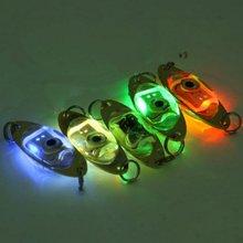 1 шт. Светодиодный прожектор для подводной ловли, светодиодный светильник с глубокими каплями, подводная форма для глаз, рыболовный светильник для кальмара