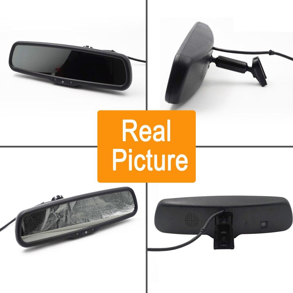 4,3 дюймов Автомобильный Монитор № 1 зеркало OEM специальный кронштейн с авто brightenss изменение авто затемнение зеркало заднего вида автомобиля TFT lcd