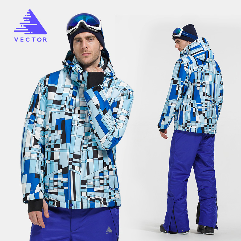 Ski Suit Men Warm Winter Windproof Waterproof SkiJacket and Pants Male Outdoor Snow Skiing Snowboard Set HXF70012