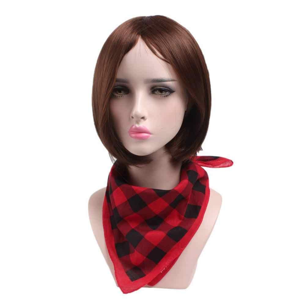 Натуральный хлопок уличный шарф Бюстгальтер-полотенце, подходящая ко всем стилям красно-черную клетку, в черно-белую клетку для детей спортивная повязка на голову для мужчин и женщин