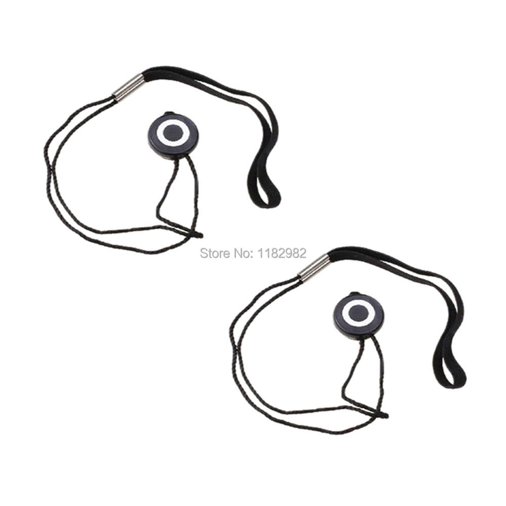 2pcs Lens Cap strap Cord Protection Cover rope For 350d