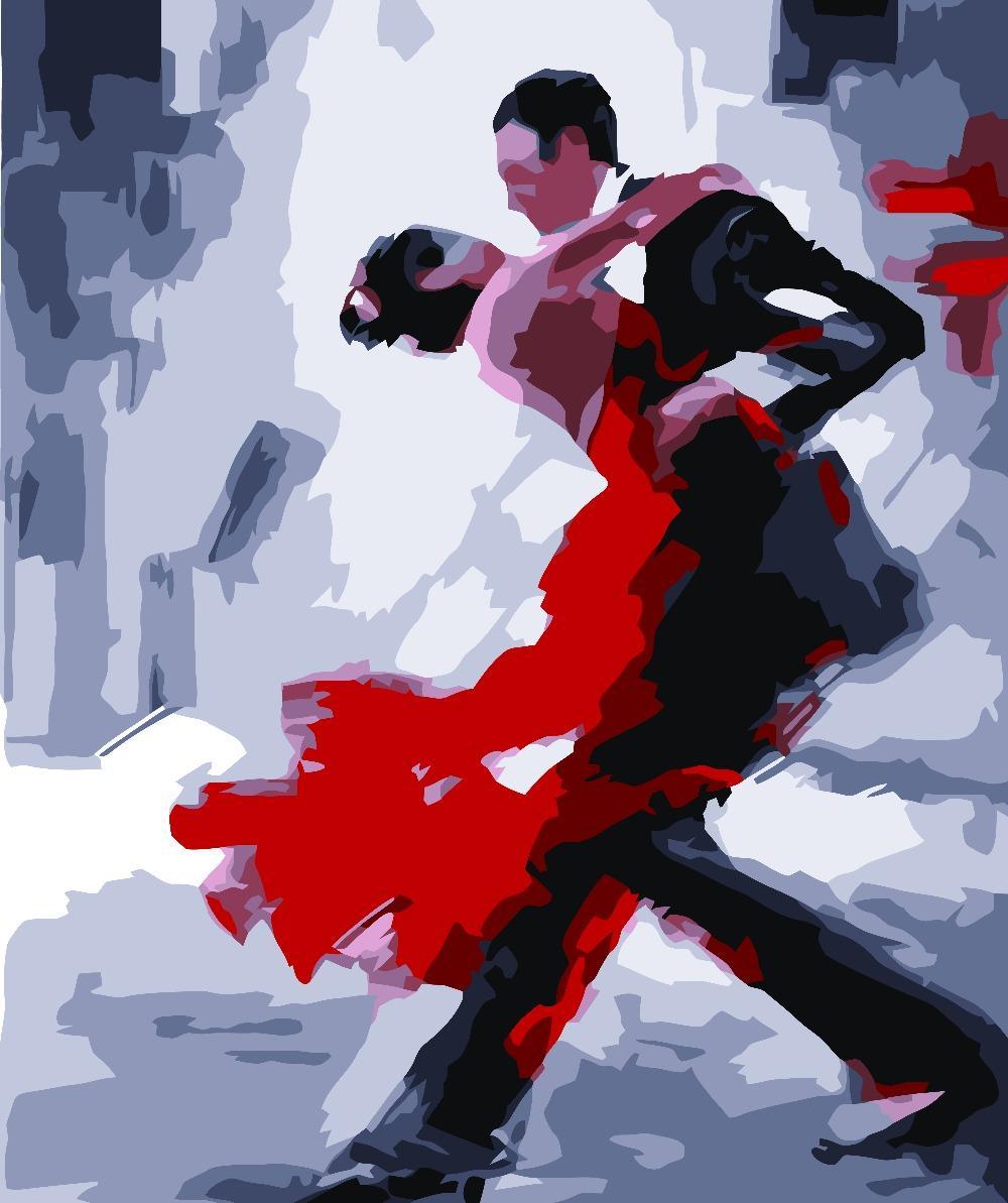 Танго картинки красивые нарисованные
