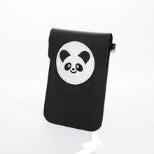 BOTUSI Cute Panda Hand Bag Coin Purses Mini Back pack Shoulder Bag Mobile Phone Bag New Fashion Women Wallet Women Bag cute dolphin style mobile phone wallet bag decoration deep pink white