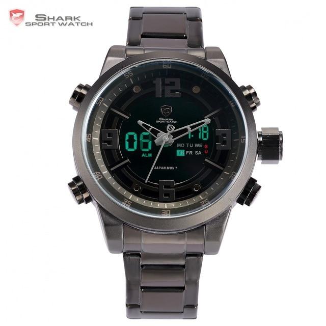 Basking Shark Sport Watch Brand Fashion Chrono Men Waterproof Digital Military S