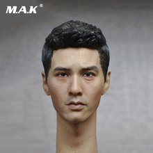 Asian Mens Head Sculpt  1/6 Scale for 12 Inches Male Bodies Figures Dolls 1 6 scale kt005 female head sculpt long hair model toys for 12 inches women bodies figures