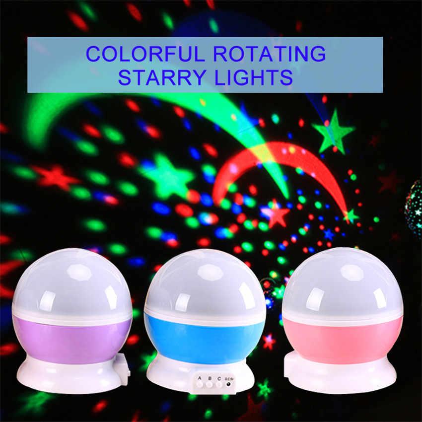 ASKMEER USB СВЕТОДИОДНЫЙ Ночник проектор Новинка светящееся звездное небо игрушки креативные подарки ко дню рождения для детей