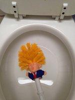 Donald Trump Toilet Brush Make Toilet Great Again Funny Gag Gift The Perfect Toilet Bowl Brush Presidential Present For Friend 3