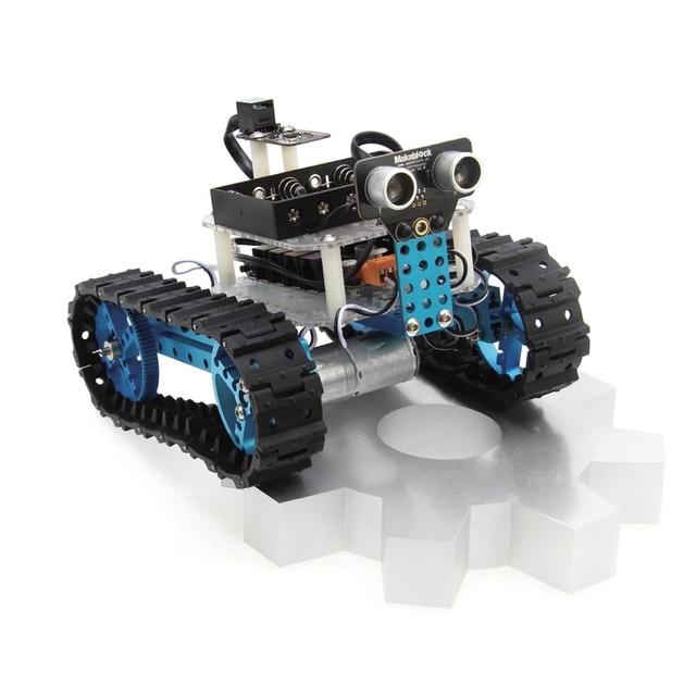 Diy car kit arduino robot starter kit blue bluetooth version diy car kit arduino robot starter kit blue bluetooth version makeblock best gift for solutioingenieria Images