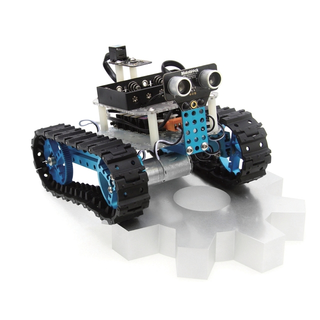 Makeblock diy car kit arduino robot starter blue