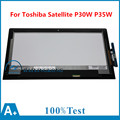 "13.3"" Touch Screen Digitizer Touch LCD Display Replacement Assembly For Toshiba Satellite P30W P35W L35W LP133WF3 (SP)(A1)"