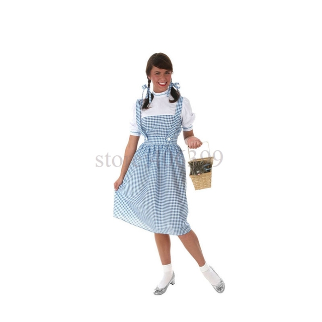 IREK hot dorothy clothing Halloween Costume Adult Children cosplay costume for carnival party top quality  sc 1 st  AliExpress.com & IREK hot dorothy clothing Halloween Costume Adult Children cosplay ...