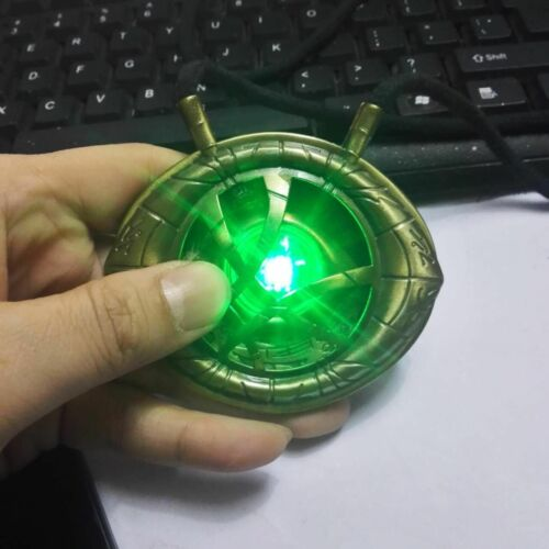 Image 3 - Doctor Strange Eye of Agamotto Cosplay Necklace Pendant Alloy LED Light Necklaces Jewelry Accessory Gift-in Pendant Necklaces from Jewelry & Accessories