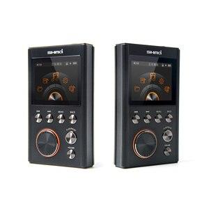 Image 2 - SHMCI C5 HIFI MP3 DSD מקצועי MP3 HIFI נגן מוסיקה תמיכת אוזניות מגבר DAC wm8965 DSD256 עם OLED כמו ZiShan DSD