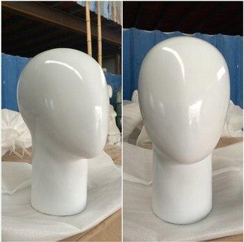Free Shipping!! New High Quality Best White Fiberglass Head Mannequin Female Head Model On Sale