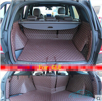 Good quality! Special trunk mats for Mercedes Benz GLE 300 320 350 2017 2015 waterproof boot carpets cargo liner,Free shipping