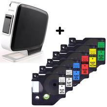 Dymo PnP etiket yazıcı kablo makinesi LabelManager Dymo D1 etiket bilgisayar tak ve çalıştır etiket bant CIDY 45013 45018 40913